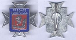 Insigne De La Frégate Tourville - Marine