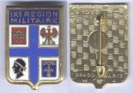 Insigne De La IXe Région Militaire - Hueste