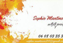 Sophie Martinois - Artiste Peintre - France - Visiting Cards