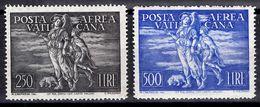 Vatican Poste Aérienne YT N° 16/17 Neufs ** MNH. TB. A Saisir! - Luftpost