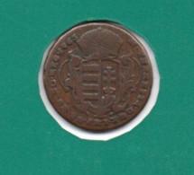 HUNGARY 1 DENAR 1763  KM-375.2 - Hungría