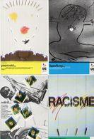 4 CP - La Solidarité A Un Téléphone - Soleil - Racisme - Handicap - Pauvreté   - 1985 (119573) - Philosophie & Pensées