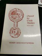 Livre, Chronik Der Stadt Vianden. 190 Pages - Postkaarten