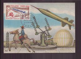 """France, FDC Carte Du 5 Juin 1964 à Paris """" Philatec """" - FDC"""