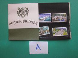 1968 BRITISH BRIDGES PRESENTATION PACK. ( A ) - Presentation Packs