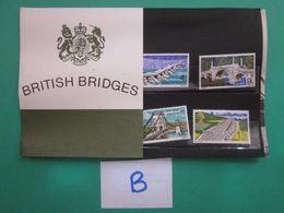 1968 BRITISH BRIDGES PRESENTATION PACK. ( B ) - Presentation Packs