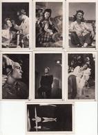 LOT De 7 CHROMOS - Images Petites Photos ARTISTES FRANCAIS Jean Marais Et ? - Andere