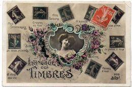 Langage Des Timbres - Semeuse - Carte Maximum   (119577) - Stamps (pictures)