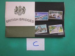 1968 BRITISH BRIDGES PRESENTATION PACK. ( C ) - Presentation Packs