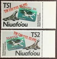 Tonga Niuafo'ou 1988 Airport Anniversary Aircraft MNH - Tonga (1970-...)