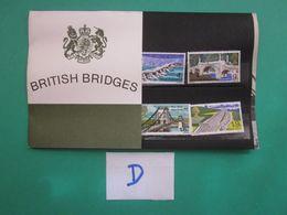 1968 BRITISH BRIDGES PRESENTATION PACK. ( D ) - Presentation Packs