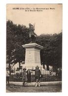 21 COTE D'OR - SEURRE Le Monument Aux Morts De La Grande Guerre - France