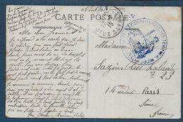 Deux Sèvres - Hopital Temporaire N° 4  NIORT - Marcophilie (Lettres)