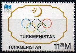 Turkmenistan 1994, Scott 50, MNH, Olympic Committee - Turkménistan