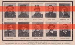 MELSBROECK - MELSBROEK - GESNEUVELDEN - 1914/1918  - Gedrukte Afbeelding - 1914-18