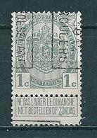 1864 Voorafstempeling Op Nr 81 - ROESELARE 1912 ROULERS - Positie B - Préoblitérés
