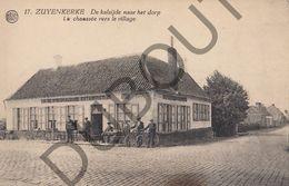 Postkaart - Carte Postale - Zuienkerke - De Kalsijde Naar Het Dorp  (B568) - Zuienkerke