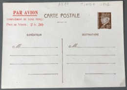 France Entier N°512-CP2 (Tunisie) Complément Par Avion Rouge - (W1680) - Standard Postcards & Stamped On Demand (before 1995)