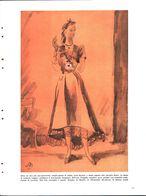 Abito Da Sera Per Giovinetta. Illustratore Moretti. 1941 - Victorian Die-cuts
