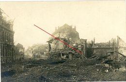 La Chapelle Armentières (Nordfrankreich) ? 1-3 -  Real Scene.-guerre 14/18-WWI Carte Photo Allemande - 1914-18