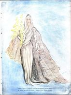 Abito Da Sposa. Modello Palmer, Illustratore Pallavicini. 1941 - Victorian Die-cuts