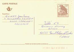 BELGIUM. POSTAL STATIONARY. BIRD - Stamped Stationery