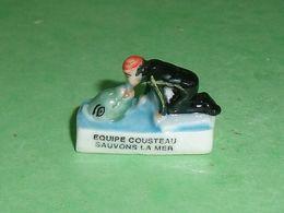 Fèves / Dessins Animés / Films / BD : équipe Cousteau , Sauvons La Mer , The Cousteau Society  T132 - Dibujos Animados