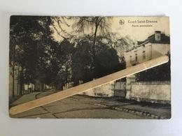 COURT-SAINT- ÉTIENNE ROUTE PROVINCIALE 1920 PANORAMA NELS - Court-Saint-Etienne