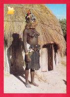 E-Angola-01A28  Une Jeune Femme Seins Nus, BE - Angola