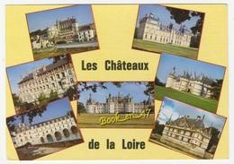 {59693} Les Châteaux De La Loire , Multivues ; Cheverny Blois Amboise Chenonceaux Chambord Chaumont Azay Le Rideau - Castillos