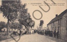 Postkaart - Carte Postale - Zuienkerke - Den Boom - Lokaal Der Schuttersgilde De Ware Vrienden -Malstaf-Vandewalle(B533) - Zuienkerke