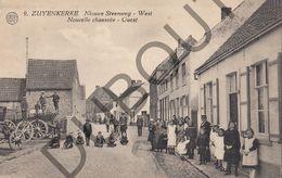 Postkaart - Carte Postale - Zuienkerke - Nieuwe Steenweg - West (B564) - Zuienkerke