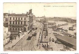1917 ALGÉRIE ALGER LE PALAIS CONSULAIRE ET L'AMIRAUTÉ - Mr TROMENT ASPIRANT 7 ème SPAHIS DE MARCHE 61 ème DI SP 87 - 2 S - Alger