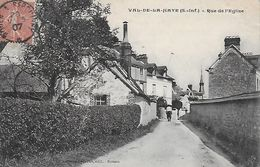 76)  VAL De La HAYE  - Rue De L' Eglise - France