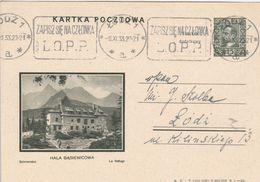 Pologne Entier Postal Illustré 1933 - Entiers Postaux