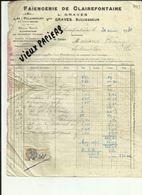 70 - Haute Saone - Polaincourt - Facture Faiencerie De Clairefontaine  - 1931 - Réf 43 - - France