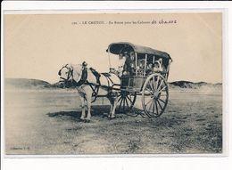 LE CROTOY : En Route Pour Les Cabanes De Chasse - Très Bon état - Le Crotoy