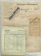 08 - Ardennes - Carignan - Facture Denaiffe & Fils - Cultures Et Semences   - 1902 - Réf 43 - - France