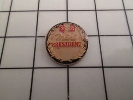 316a Pin's Pins / Beau Et Rare / THEME : ALIMENTATION / FROMAGE MINI CAMEMBERT PRESIDENT - Alimentation