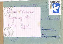 36906. Carta SOPOT (polska) Polonia 1978. RETOUR. Marca Abierto, Faja Y Devolucion - 1944-.... Republic