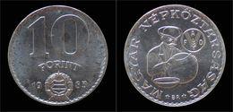 Hungary 10 Forint 1983 - Hungría