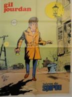 "POSTER "" GIL JOURDAN "" Supplement Au Spirou N° 1832  De  1973 - Spirou Magazine"