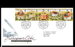 Great Britain FDC 1995 Shakespeares Globe (NB**LAR9-142) - FDC