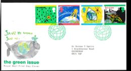 Great Britain FDC 1995 Peace And Freedom (NB**LAR9-142) - FDC