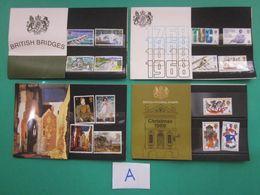 1968 YEAR SET OF FOUR PRESENTATION PACKS. ( A ) - Presentation Packs