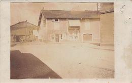 88 - THAON Les VOSGES - Carte Photo Café De La Femme à Barbe 1905 - Thaon Les Vosges