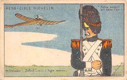 AVIATION-HUMORISTIQUES-AERO-CIBLE MICHELIN - Aviation