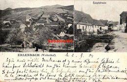 Erlenbach (Weilerthal) - Hauptstrasse - 1904 - Germania