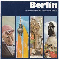 GUIDA TURISTICA BERLINO - BERLIN DDR REPUBBLICA DEMOCRATICA TEDESCA - Tourism Brochures