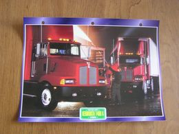 KENWORTH  T 400 A 1988  USA Trucks Trailers Transport Fiche Descriptive Camion Truck Camions - Autres